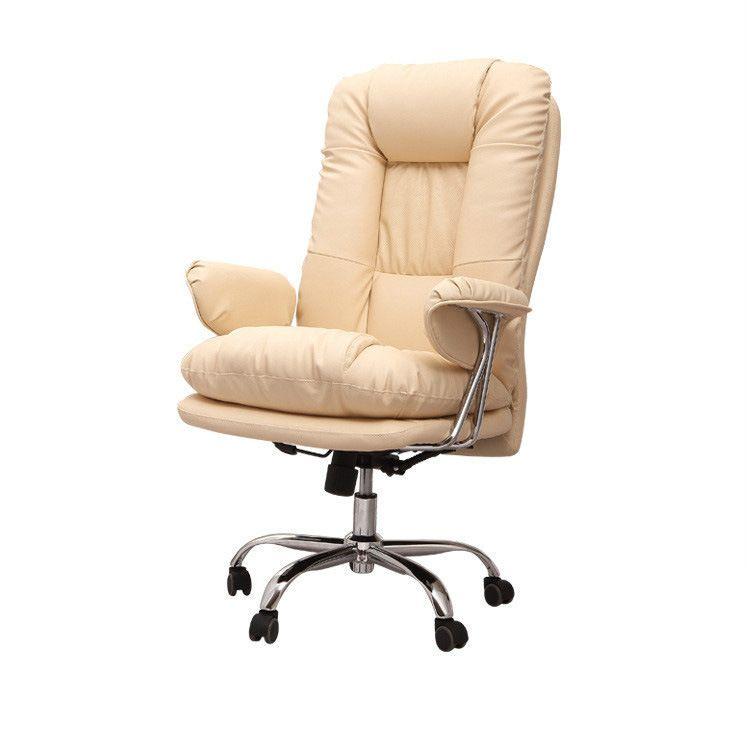 Hohe Qualität Super Weich Freizeit Bürostuhl Computer Sitz Stuhl Hebe Liegen Drehstuhl Verdickung Kissen Rückenlehne Stuhl