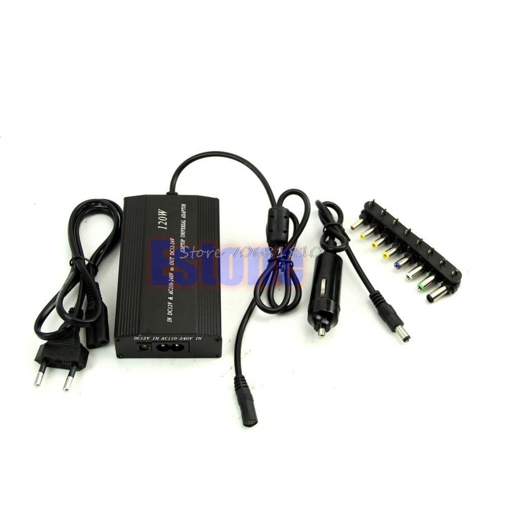 Universal 120 Watt AC Adapter Netzteil Ladegerät Netzkabel für Laptop Notebook Heißer Computer Zubehör Z09 Drop ship