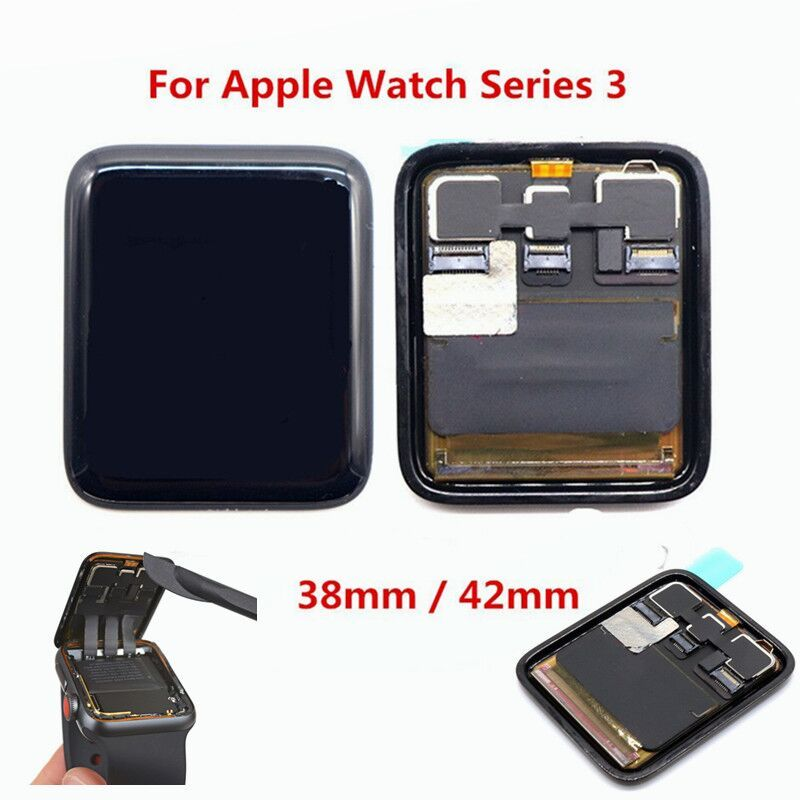 Brand New LCD Display Touch Screen Digitizer Assembly for Apple Watch Series 3 38mm / 42mm Pantalla Replacement Parts GPS