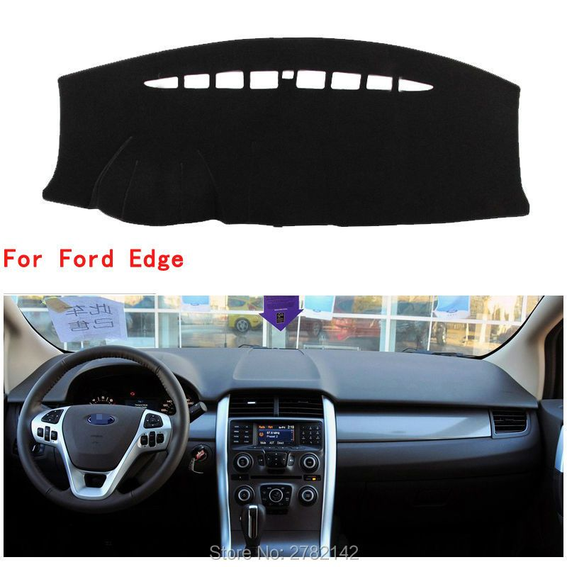 High quality Car Dashboard Cover Light Avoid Pad Photophobism Mat Sticker For Ford Edge