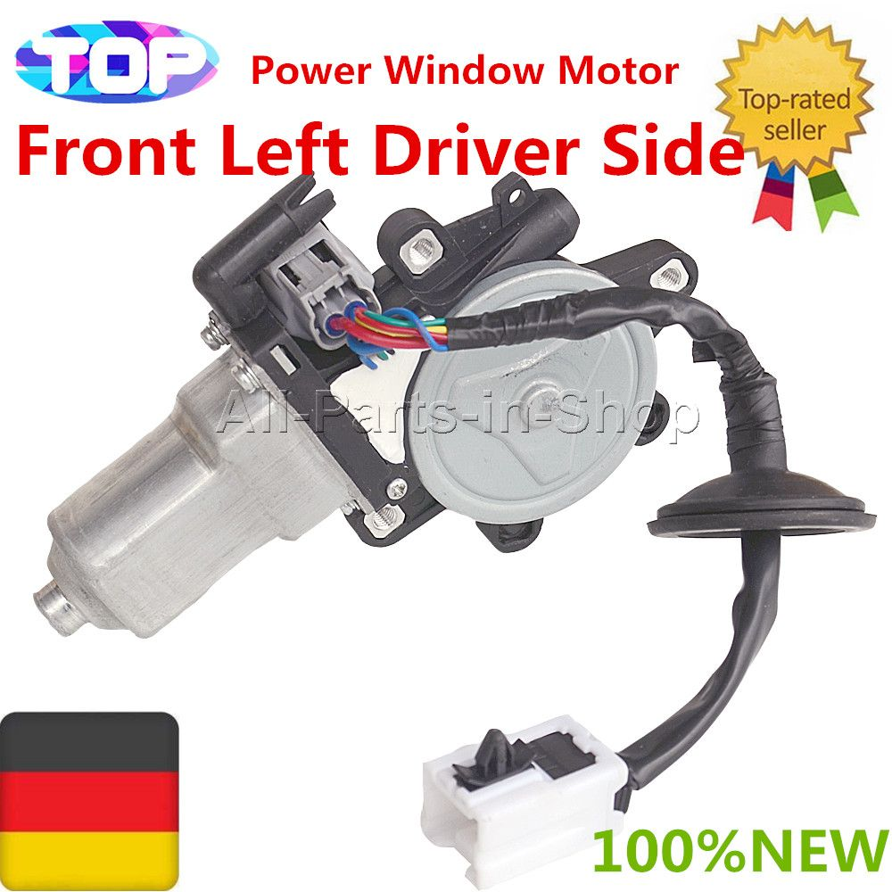 80731-CD001,80731-CD00A,80731CD001,80731CD00A 1 x New Power Window Motor Front Left Driver Side for Nissan 350Z & Infiniti G35
