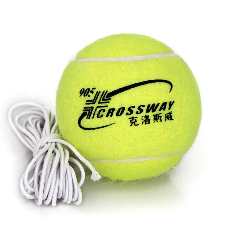 1 stück Professionelle Tennis Training Partner Rebound Praxis Ball Mit 3,8 m Elastische Seil Gummi Ball Für Anfänger