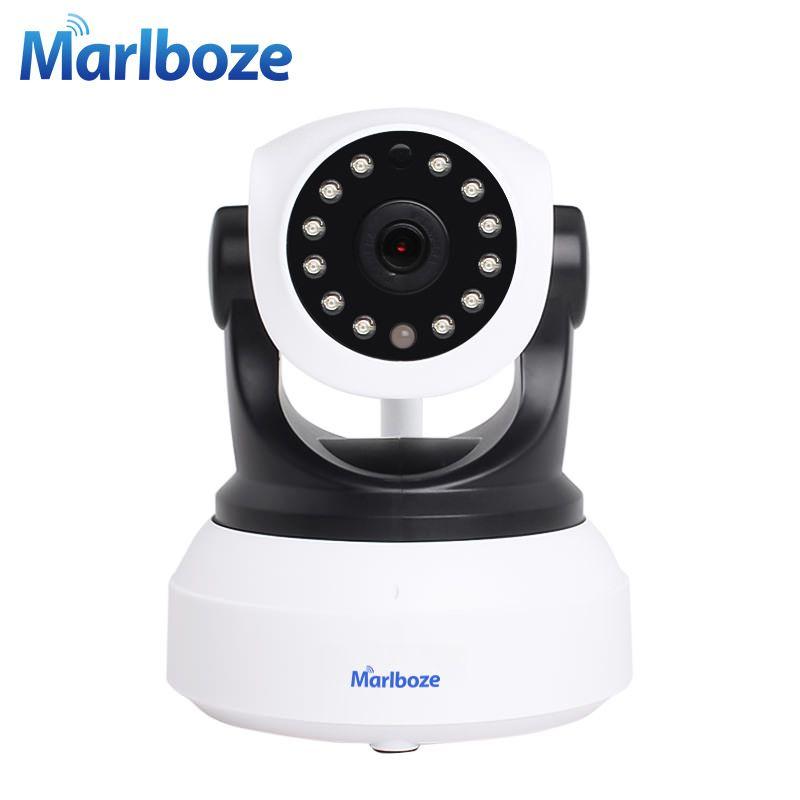 Marlboze Wireless 720P HD IP Camera IR-Cut Night Vision P2P Baby Monitor Audio Record WIFI CCTV Onvif Indoor Surveillance Camera