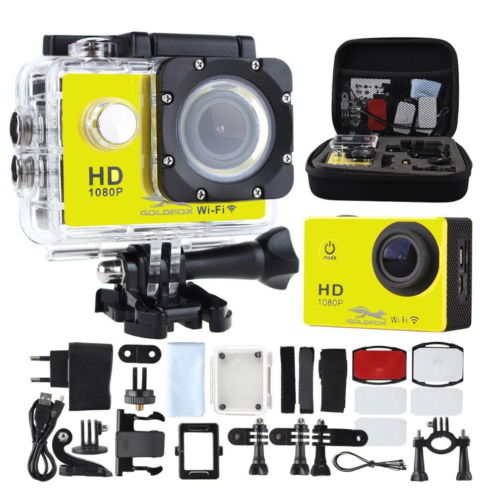 SJ4000 WIFI Camera Action Plongée 30 m Étanche 1080 p Full HD Aller Sous-Marine Casque Sport Caméra Sport DV 12MP photo Pixel Caméra