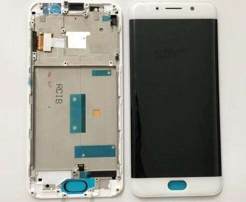 100% geprüft Hohe Qualität 5,46 zoll Weiß/Schwarz Für BBK Vivo XPlay 6 LCD DIsplay + Touch Screen Digitizer montage