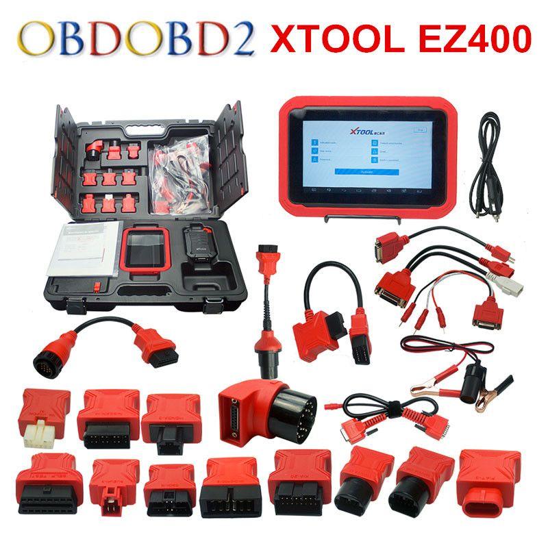 2017 100% Original Xtool EZ400 Diagnostic Tool Free Update Online EZ 400 With Wifi DHL Free