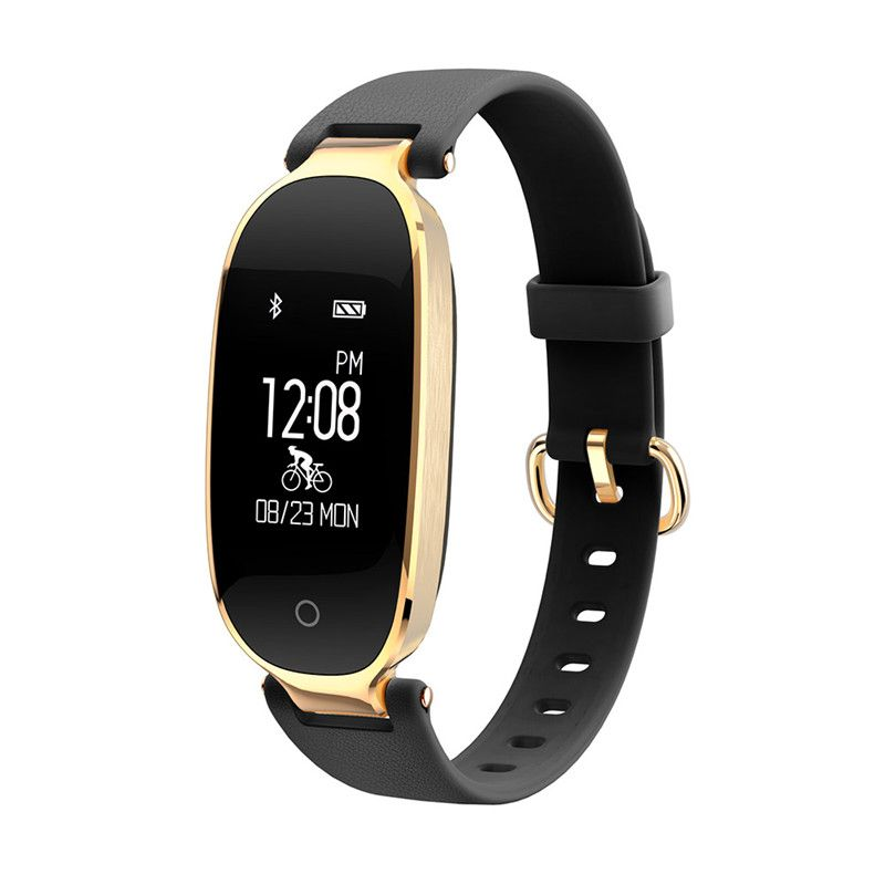 Fashion S3 Bluetooth Waterproof Smart Watch Fashion Women Ladies Heart <font><b>Rate</b></font> Monitor Fitness Tracker Smartwatch for Android IOS
