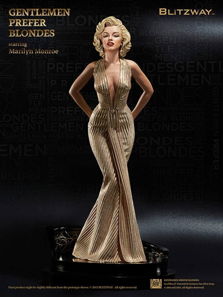 40cm 1/4 Scale Blondes Marilyn Monroe sexy Action figure Anime Doll PVC Collection Model Toy for friends gift