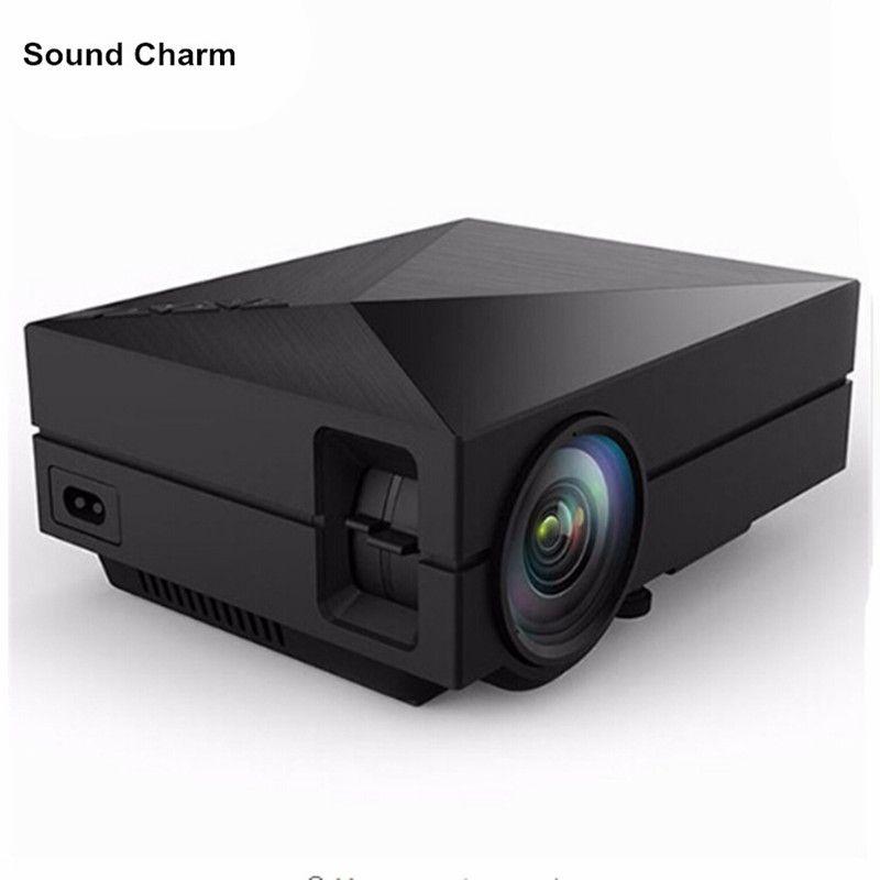 Heimkino Mini Tragbare HDMI USB LCD FÜHRTE Mini Micro piCo 3D Projektor HD 1080 P Proyector Projetor Projektor Beamer