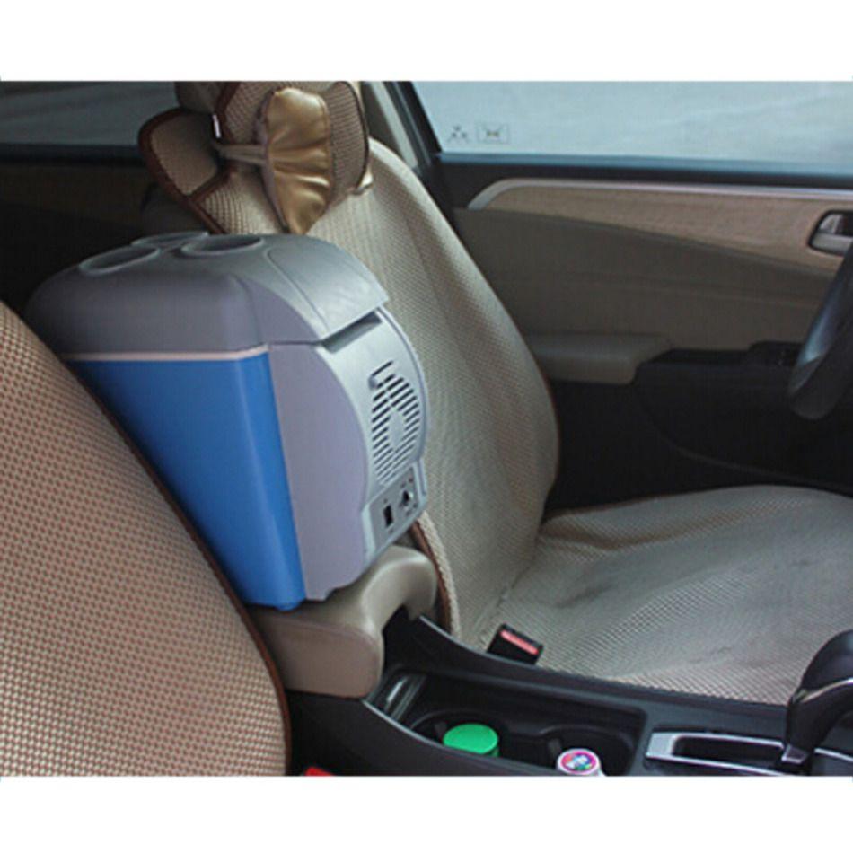 7.5L Mini Erwärmung und Kühl Auto Fahrzeug Kühlschrank 12 V Heißer und Kalten Doppelnutzung Auto Gefrierschrank Kühlschrank Für Auto Und hause