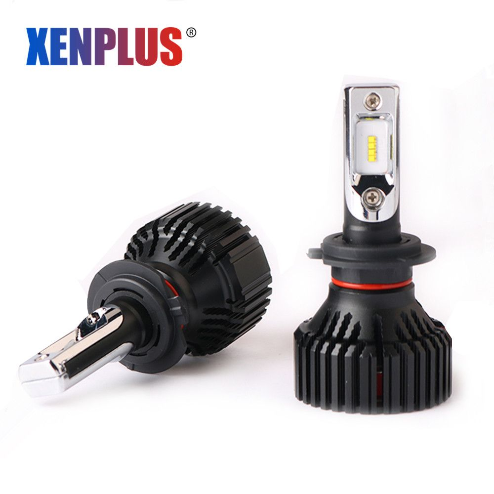 2pcs H7 Led Car Headlight H11 H8 H4 H13 9005 9006 9004 9007 Lumileds ZES Chip 12V 60W 8000lm E3 Automobiles Bulbs Auto Fog Lamp
