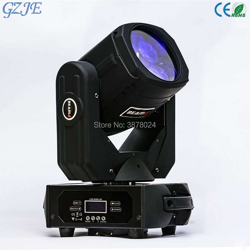 LED Super Beam 4x25W High brightness Mini LED moving head Beam Stage Light for Bar effect led stage lighting