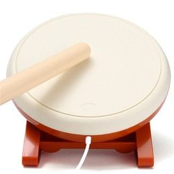 For Taiko No Tatsujin Video Game Drum Sticks Set for Nintendo for Wii Remote Controller Video Game Console Gaming  Accessories
