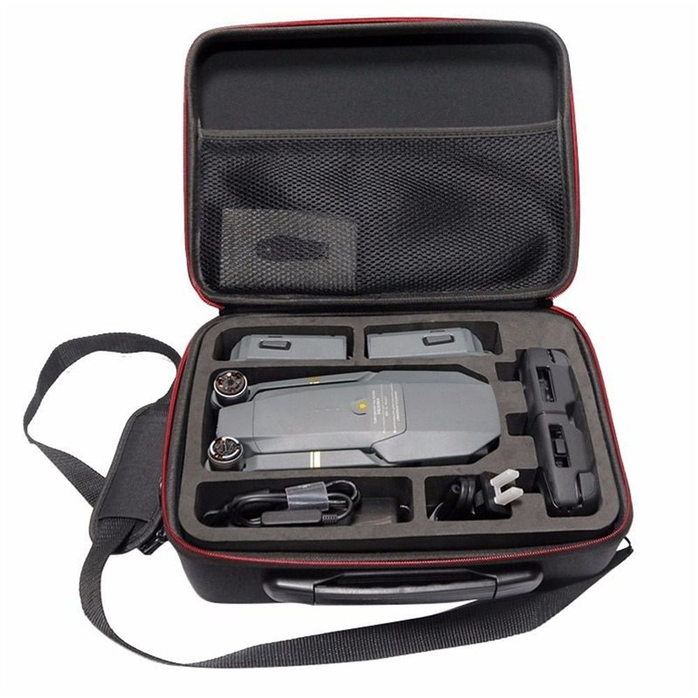 Drones Bag for DJI Mavic Pro EVA <font><b>Hard</b></font> Portable Bag Shoulder Carry Case Storage Bag Water-resistant Portable For DJI Mavic Case