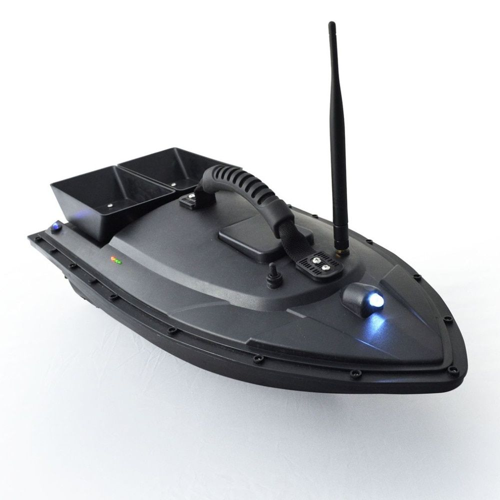 Smart Fishing Bait Boat 500m Remote Control Fish Finder Boat 1.5kg Loading RC Boat Ship Speedboat with Double Motors Hot
