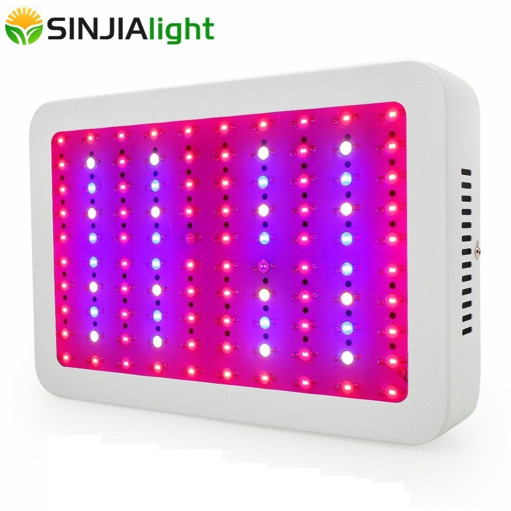 1000W Full Spectrum LED Grow Light Double Chips Growth Lamp Panel for hydroponics greenhouse grow tent indoor plants lighting