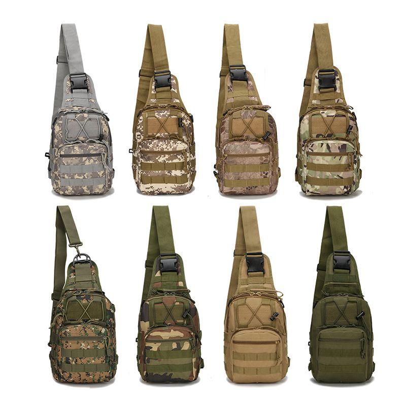 600D sac de sport en plein air militaire épaule Camping randonnée sac tactique sac à dos utilitaire Camping voyage randonnée sac