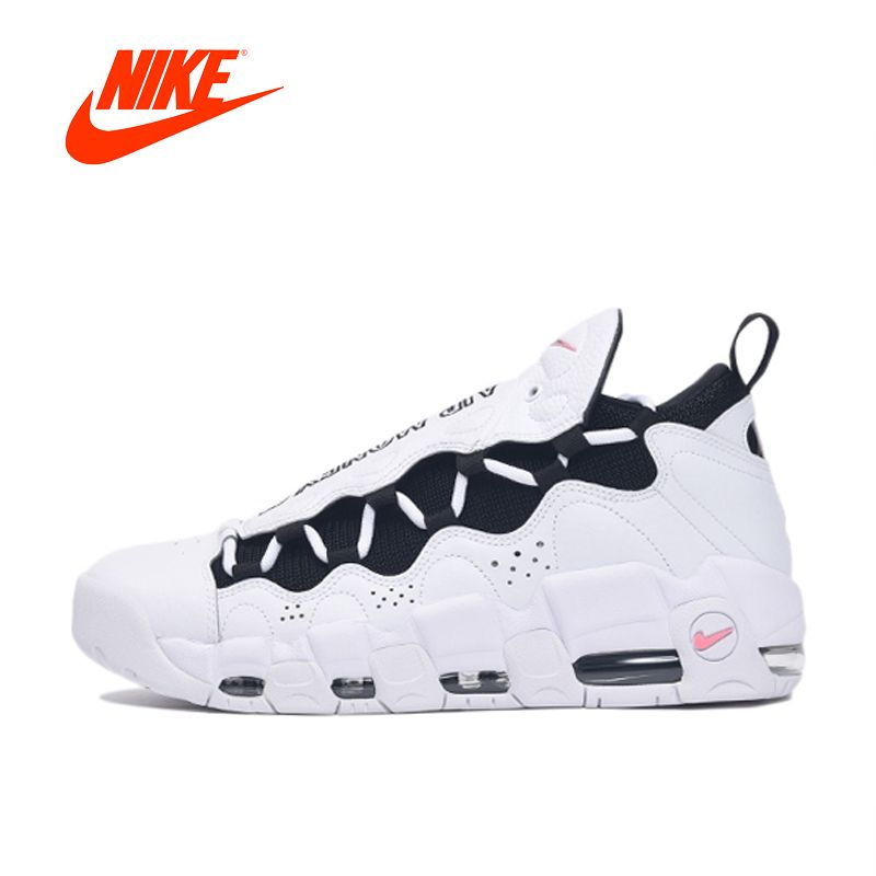 Original New Arrival Authentic NIKE AIR MORE MONEY Mens Basketball Shoes Sport Outdoor Sneakers Good Quality Comfortable AJ2998