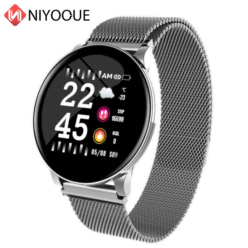 NIYOQUE New Smart Bracelet IP67 waterproof Activity tracker Fitness band with Blood pressure Monitor Heart Rate Wristband