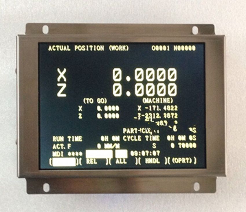 A61L-0001-0076 compatible LCD display 9 inch for CNC machine replace CRT monitor