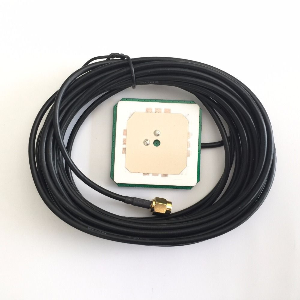 Free high-quality GPS antenna 38DB high-gain, high-precision positioning GNSS antenna, support GPS GLONASS, BEI DOU three system