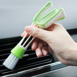 Универсальный автомобильный принадлежности для клавиатуры универсальная щетка для очистки Vent щетка для очистки стайлинга автомобилей Акс...