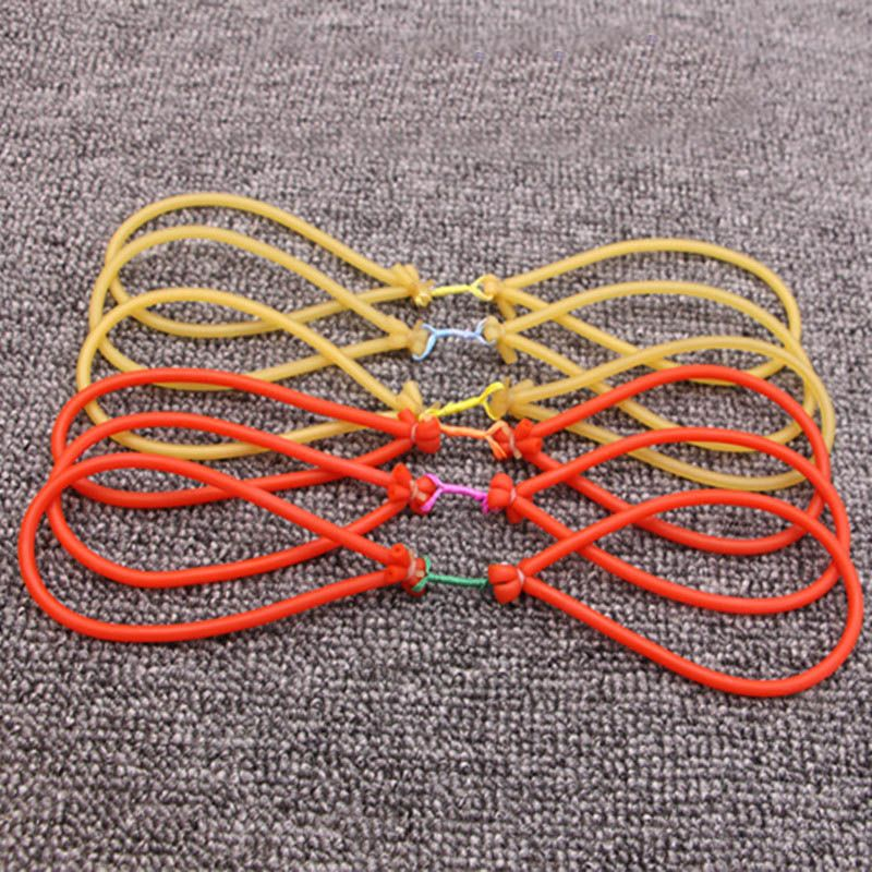 8pcs/12pcs/lot 1745 sling rubber band used for catching fishing high quality slingshot rubber band slingshot latex rubber