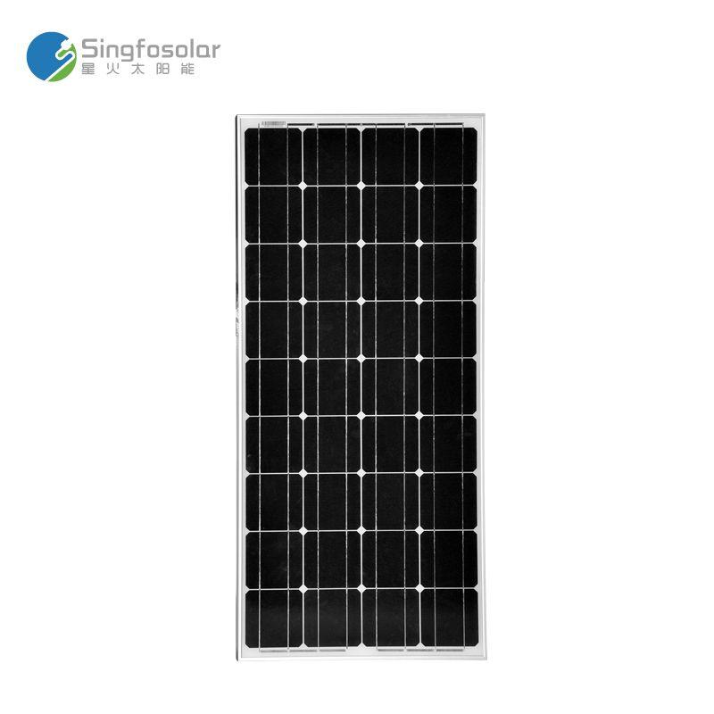 Nouveau panneau solaire 100 W Cargador solaire monocristallin cellule solaire 12 v Fotovoltaica caravane Camp bateau Camp caravane PVM100W