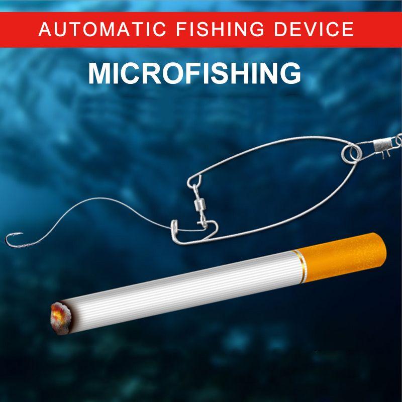 Neue miniatur version, miniatur version von automatische angelhaken, haken artefakt, angeln getriebe liefert