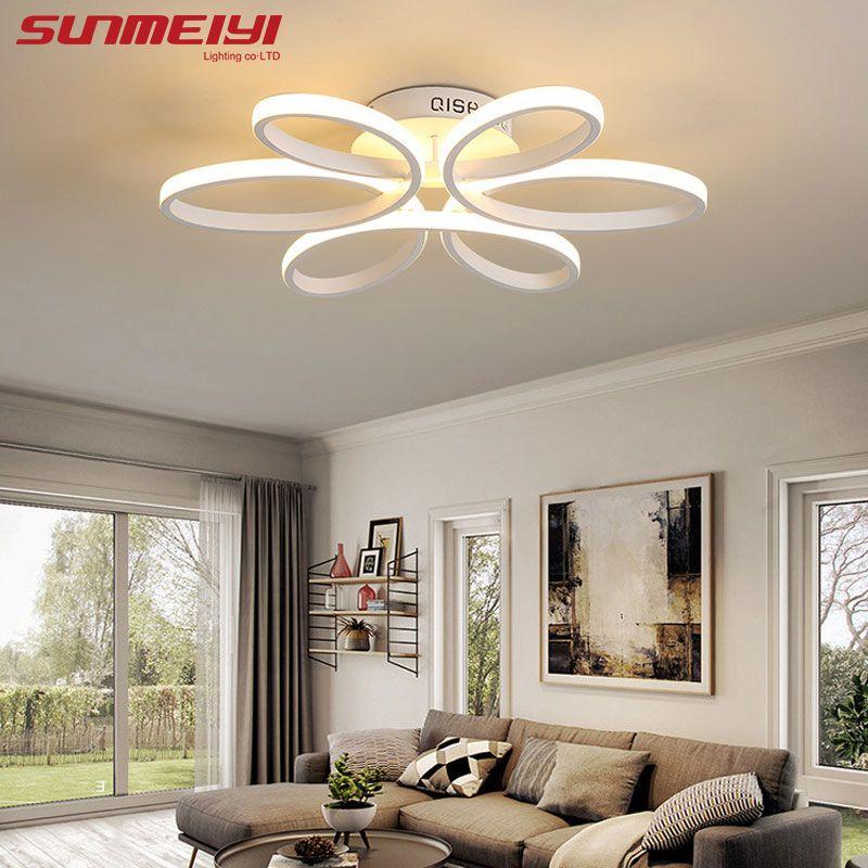 Накладные современный LED Потолочные светильники для Гостиная Luminaria LED Спальня светильники домашние DEC потолочный светильник