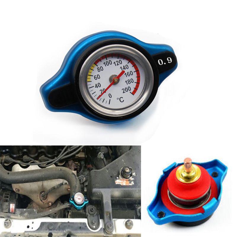 Blau 0,9 BAR Thermostatischer Kappe Druckstufe Temperatur Messinstrument-lehre Kleiner Kopf für Honda Accord Civic del Sol