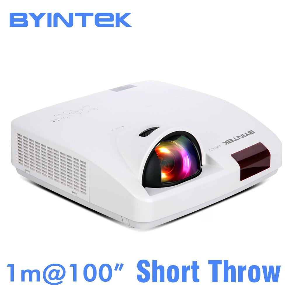 BYINTEK WOLKE K7 Kurze Werfen Tageslicht Hologramm 3LCD Video XGA WXGA 1080 P FUll HD Projektor für Kino Bildung Büro business