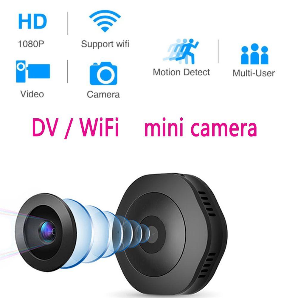 Volemer H6 DV/Wifi Micro caméra Version nocturne Mini caméra d'action avec capteur de mouvement caméscope enregistreur vidéo vocal petite caméra