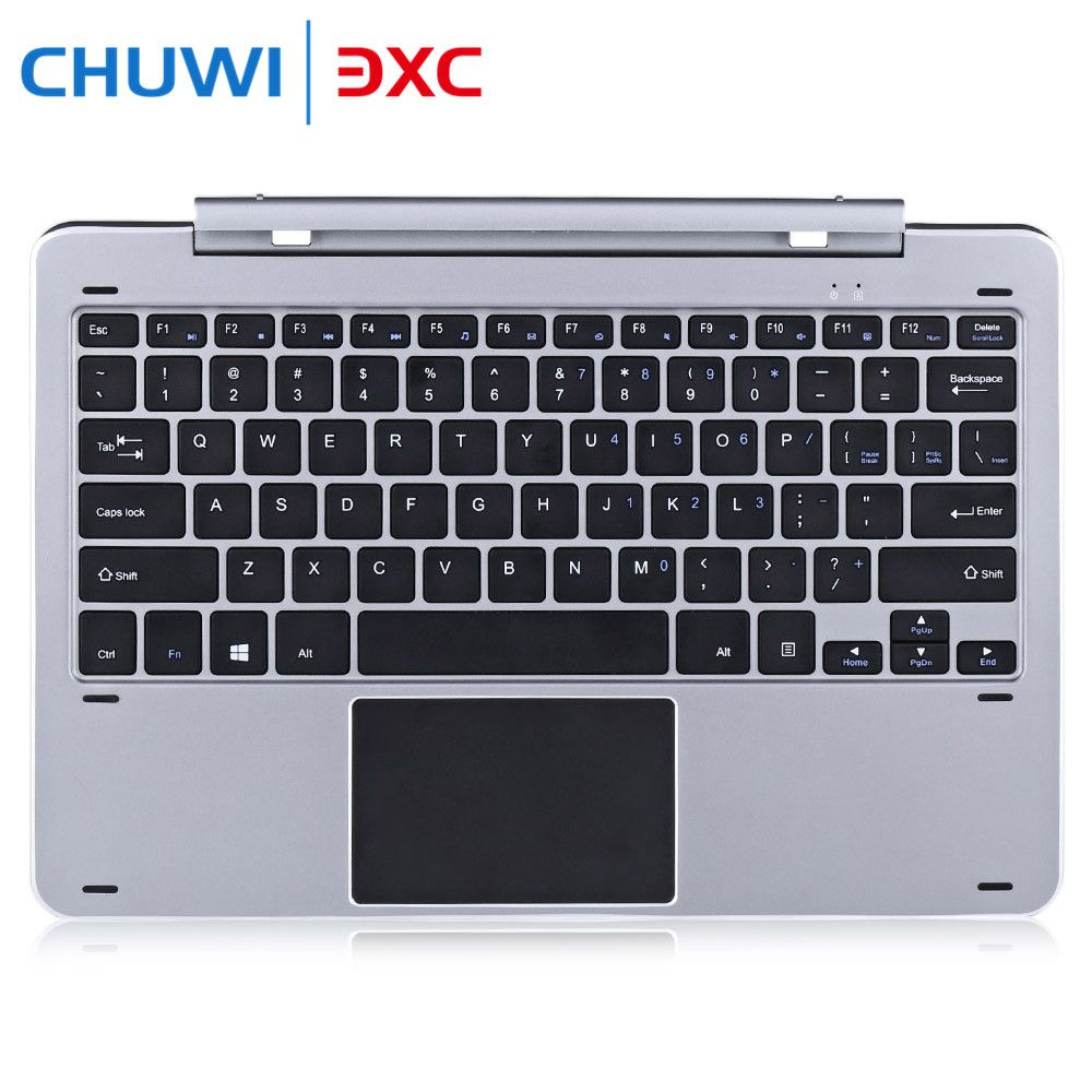 Chuwi Hi12 Multimode Rotary Shaft Aluminium Alloy Keyboard Magnetic Docking Pogo Pin Separable Design for Playing Game Chatting