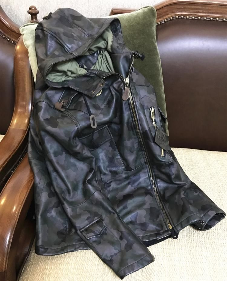 Free shipping.fashion classic inter warm Sheepskin jackets,men's slim long genuine sheep leather jacket,casual clothing.Brand