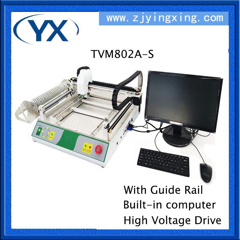 PCB Ausrüstung Led Produktion Maschine TVM802A-S, Führungsschiene + Built-in Computer + Hohe Spannung Stick