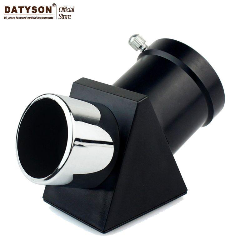 Datyson Зенит Диагональное зеркало/Диагональ адаптер 1.25 ''45 градусов возведении Image призму астрономических окуляра