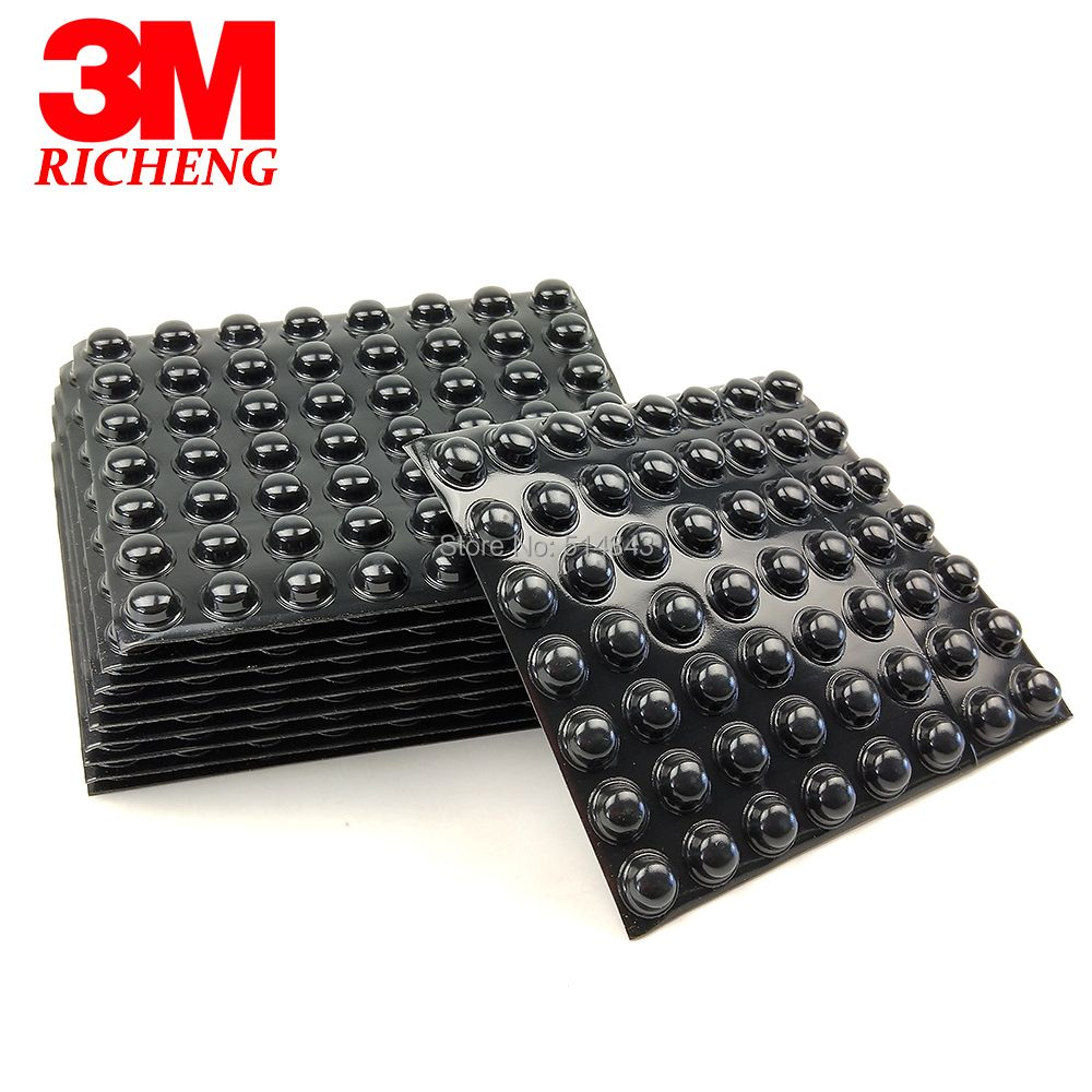 (3000pcs/lot) Black 3M Bumpon SJ5003 Self-Adhesive Rubber Foot, Hemispherical Shape, Be Used As Feet, Stops And Spacers