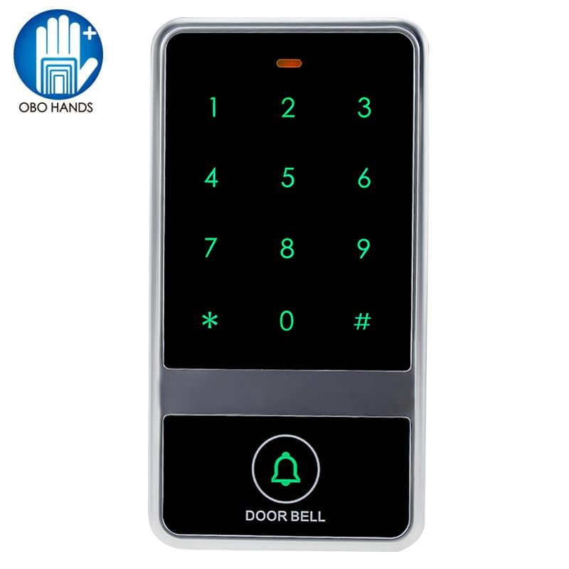 High Quality Touch keypad Waterproof Access Controller RFID Card Reader Number/Password Door Lock For Access Control System-C60