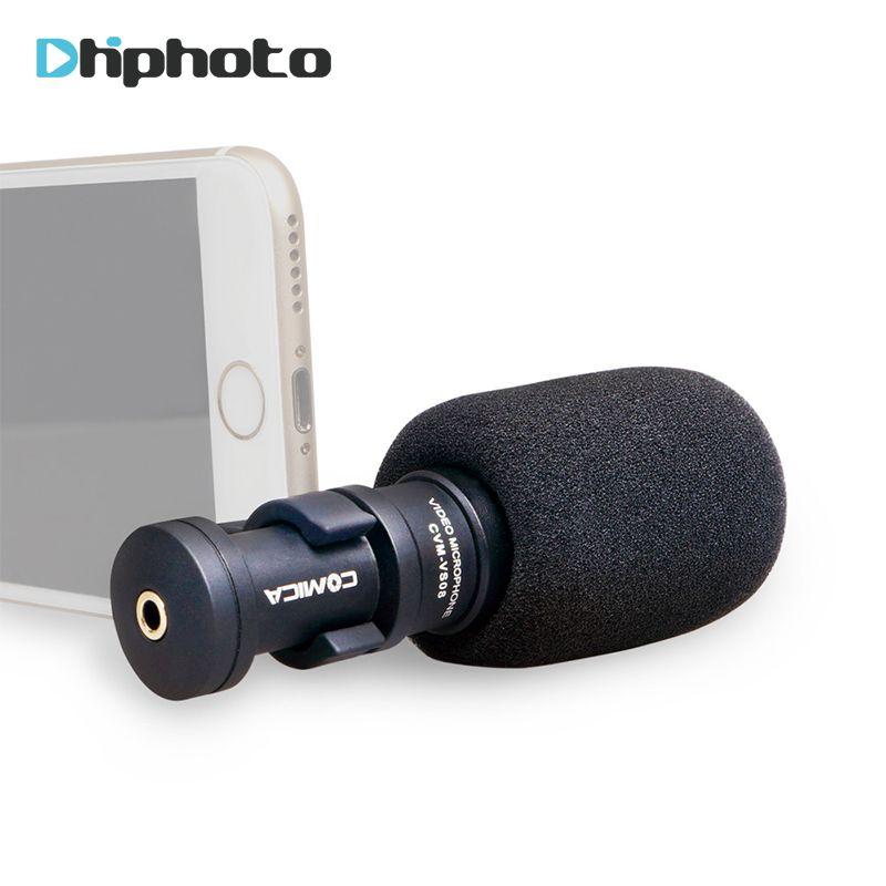 Микрофон для IPhone смартфона, ulanzi Comica Направленная Запись микрофоном для Huawei смартфон YouTube видео vlogging