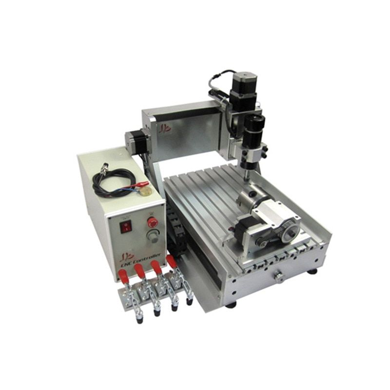 LY CNC 3020 Z-D Ball Screw 500W Desktop Wood Engraver Router Mini PCB Engraving Milling Machine