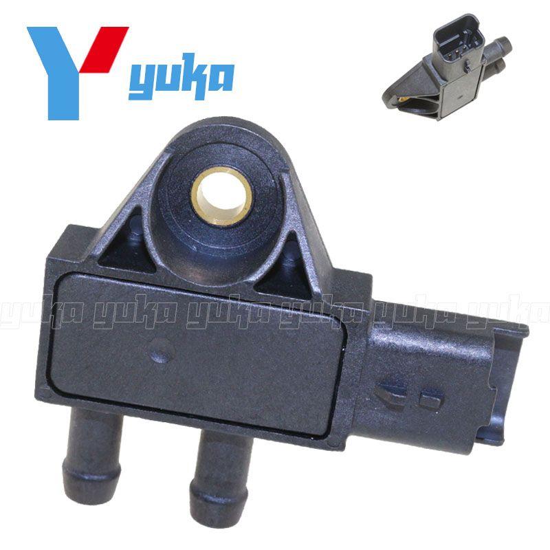 1618Z9 Exhaust DPF Differential Pressure Sensor For PEUGEOT 1007 206 207 307 308 407 CC EXPERT PARTNER 1.4 1.6 2.0 2.2 2.7 HDI