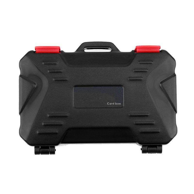 Titulaire Cas de Carte mémoire Pour 4 CF 8 SD Carte SDXC MSPD XD 12 TF T-Flash Boîte De Rangement Protecteur Étanche Anti-choc Baisse IP67