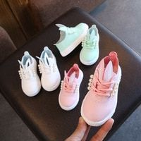 2018 Spring Autumn Baby Shoes Girl Breathable Sneakers Shoes for Girl Bunny Princess Shoes Not Stinky Skin Soft Kids Sport Shoes