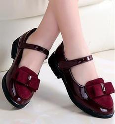Niños princesa zapatos de cuero PU 3 colores casual rosa de la flor del bebé niñas moda marca zapatos ninos envío libre 668