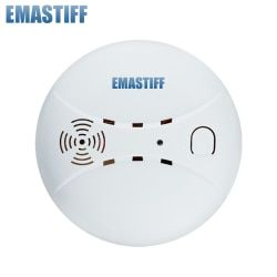 433MHz Wireless Fire sensor Protection Smoke Detector For WIFI GSM PSTN office home security Alarm Systems