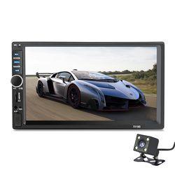 2 Din 7 pouce de voiture radio lecteur LCD Tactile écran voiture audio auto Stéréo bluetooth soutien autoradio de voiture caméra de Recul.