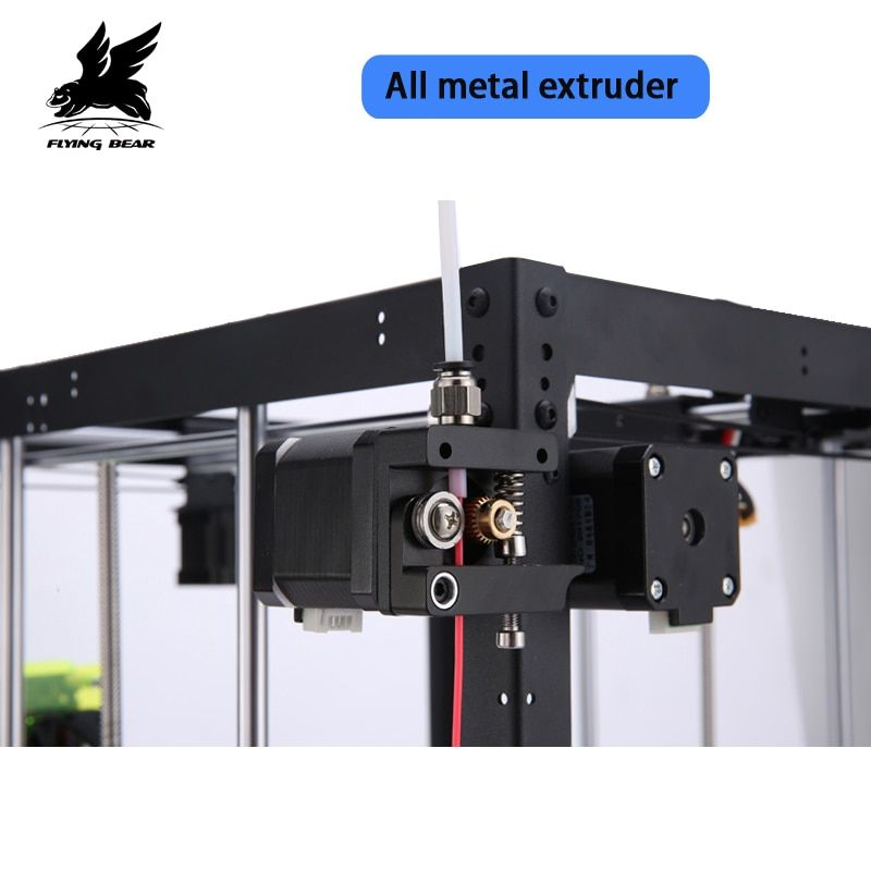 New Free shipping Flyingbear DIY P905X All metal Large pringing size 3d Printer kit Filament & 4G SD Card as gift
