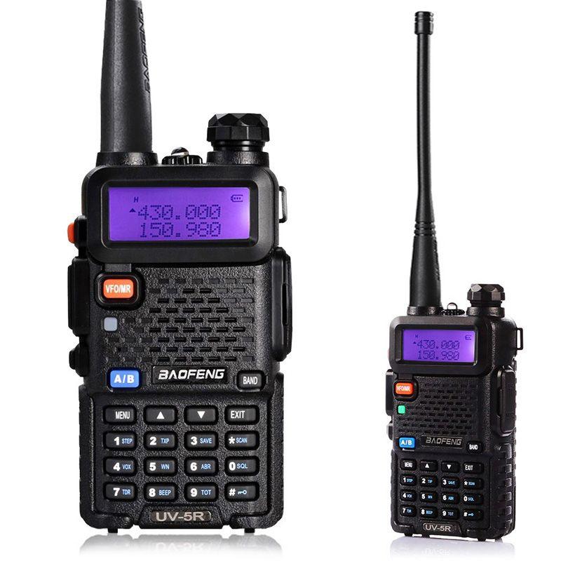 BaoFeng UV-5R Bi-bande Talkie-walkie VHF/UHF136-174Mhz et 400-520 mhz Radio Bidirectionnelle Portable Baofeng uv5r