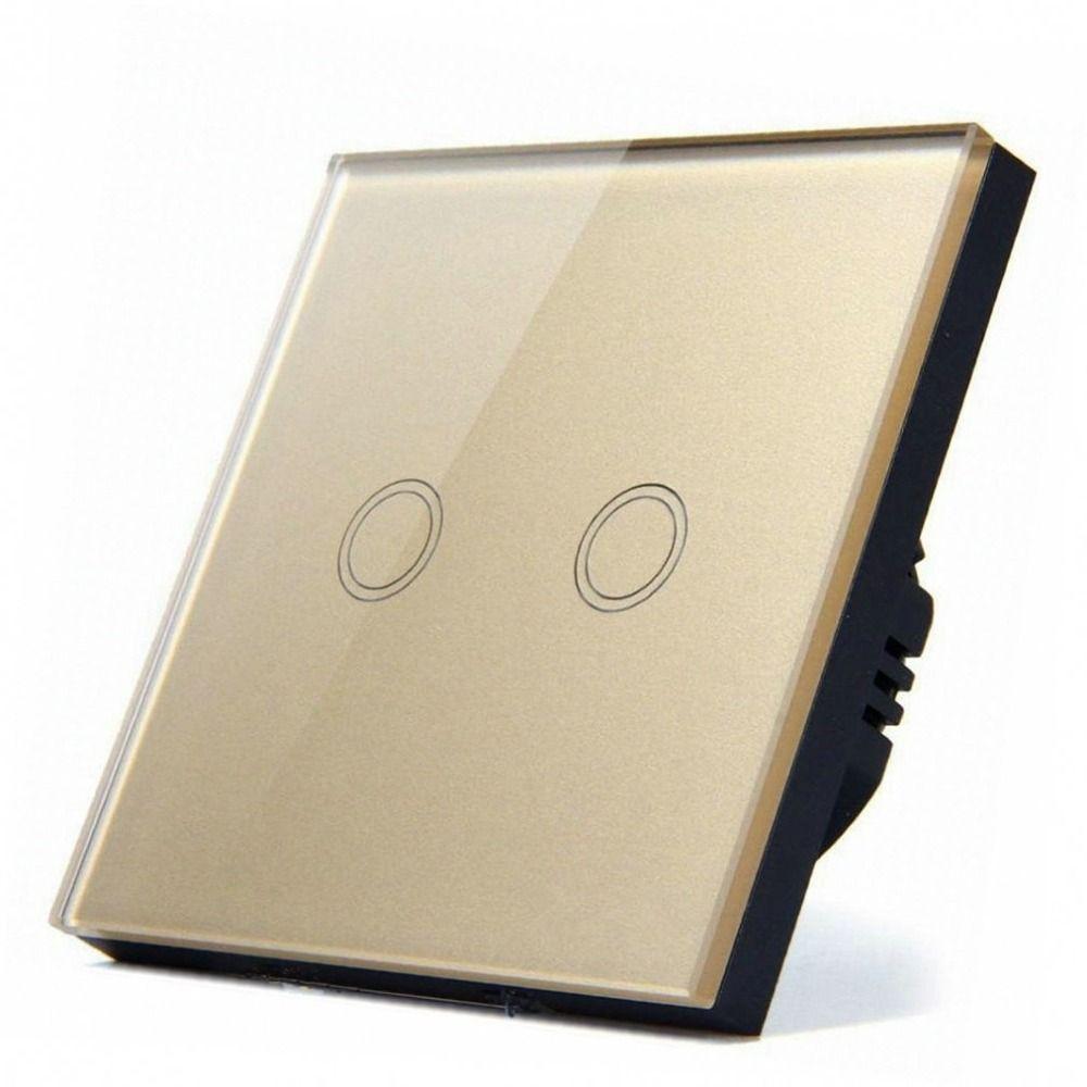 1/2/3 Gang Wireless touch switch 220v wall Light Switch,EU Standard wireless smart home switch